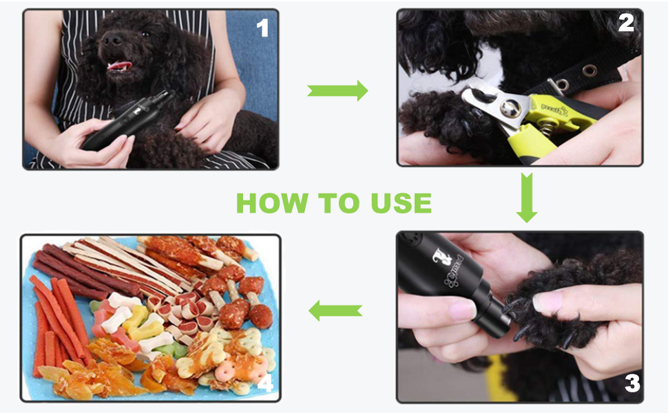 dogs nail grinder