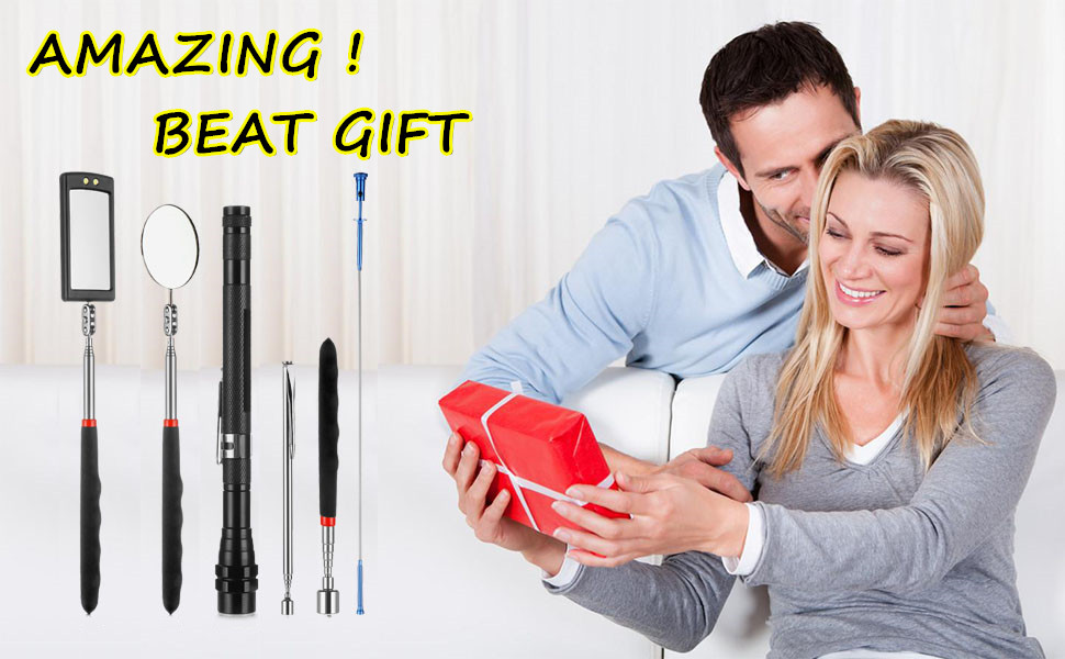 Magnetic Telescoping Bendable Pick-up Tool Kit