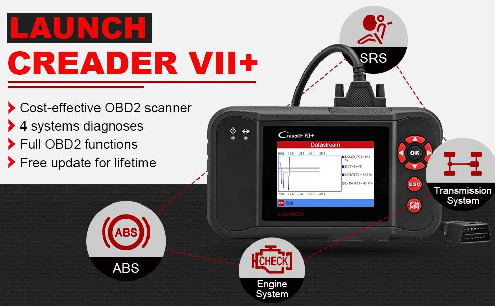 LAUNCH X431 Creader VII+