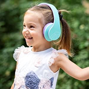 Kopfhörer für Kinder, lautstärkesichere Kopfhörer, volumenbegrenzte Kopfhörer, autistische Kopfhörer