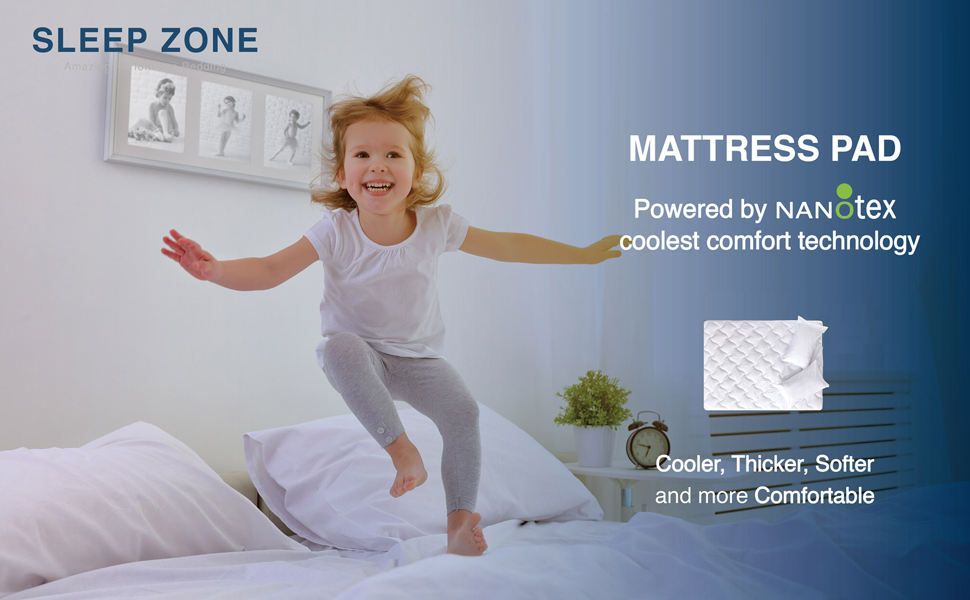Main Mattress Pad Cooling