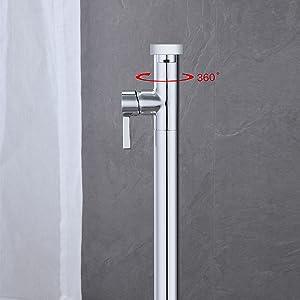 freestanding bathtub faucet