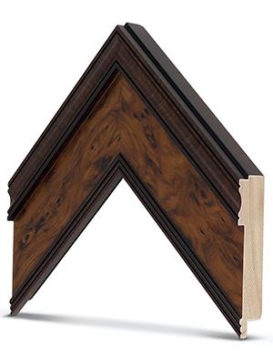 Burlwood frame