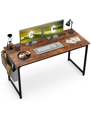 Rustic Brown Computer Desk