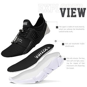 VITIKE Kinder Schuhe Jungen Schuhe Mädchen Sneaker