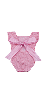 Ribbon bow baby girls clothes