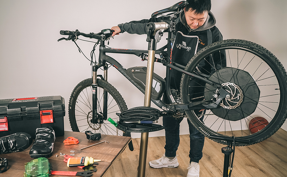 Bikehand Pro Mechanic Bicycle//Bike Repair Rack Stand