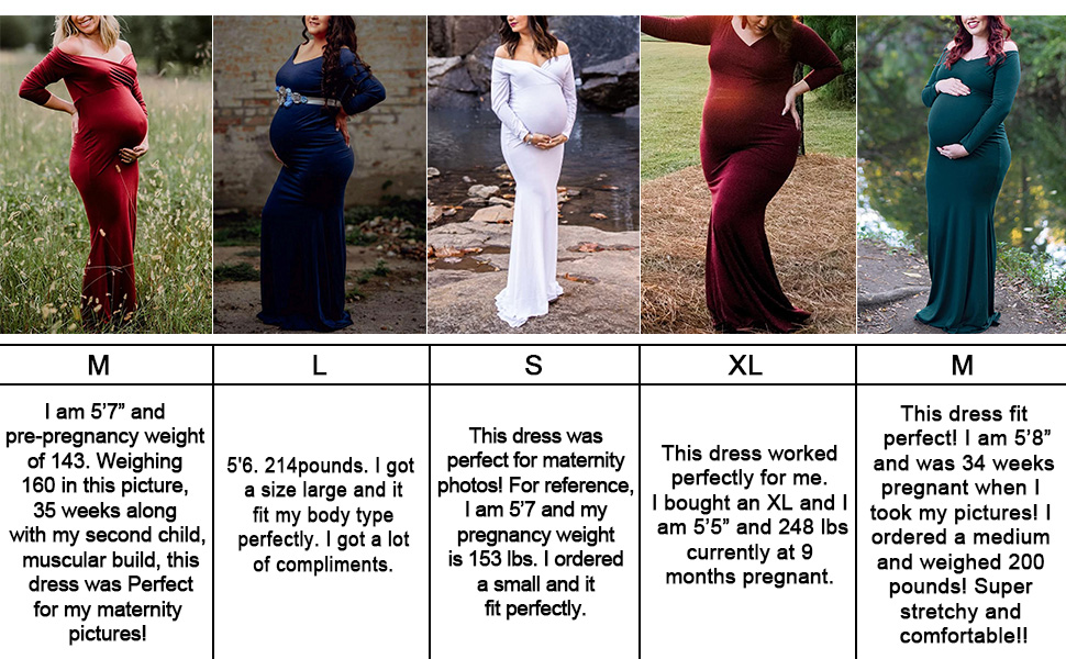 Ecavus Women S Off Shoulder Maternity Dress Slim Cross Front V Neck Long Sleeve Gowns For Photoshoot At Amazon Women S Clothing Store
