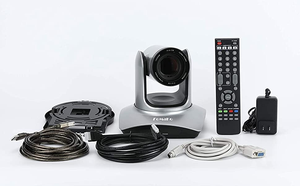 FoMako 20xzoom USB HDMI camera's box item