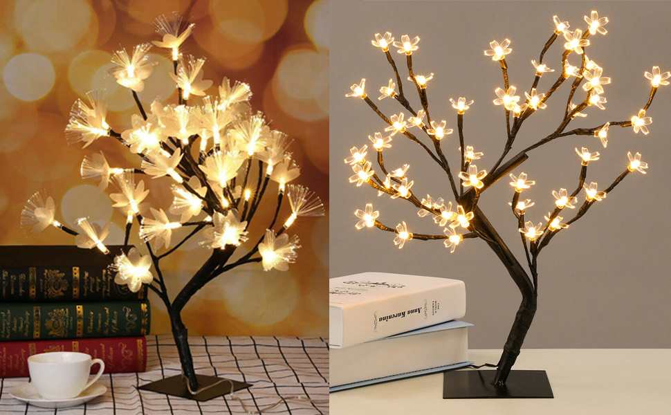48 LED Tree Lights Cherry Blossom Tree Light