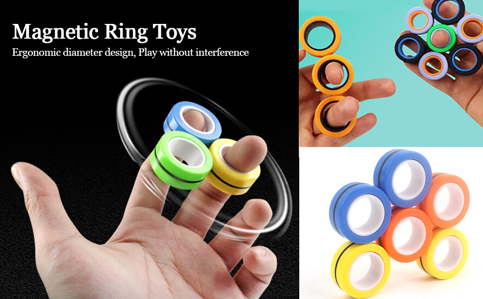 Magnetic Rings Toys