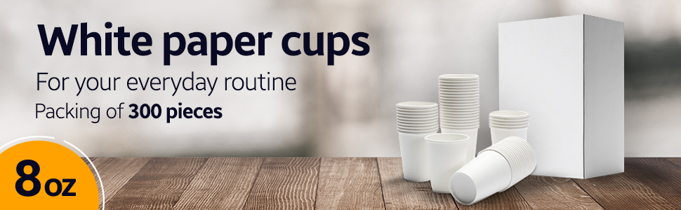 Disposable cups for coffee, Tea and beverages