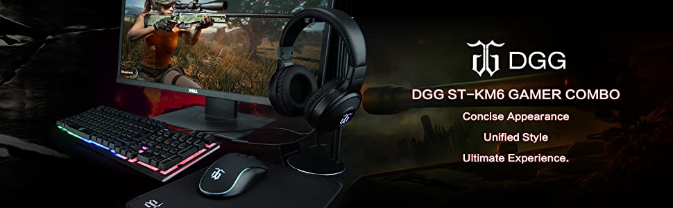 DGG GAMER COMBO UNIFIED STYLE