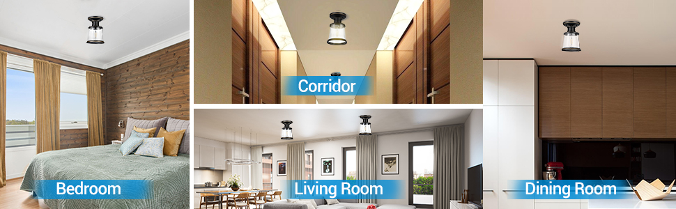 ceiling light in home