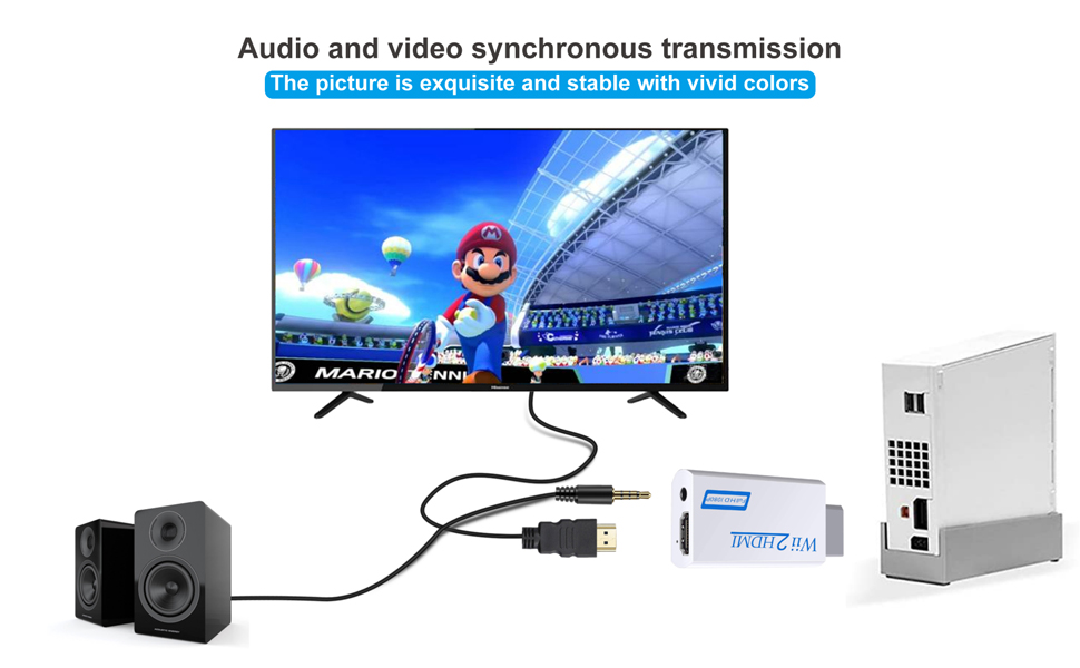 Wii2HDMI_connectique