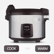 Fonctions de cuisson et de maintien au chaud de qualité professionnelle.