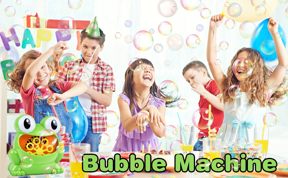 bubble machine toys