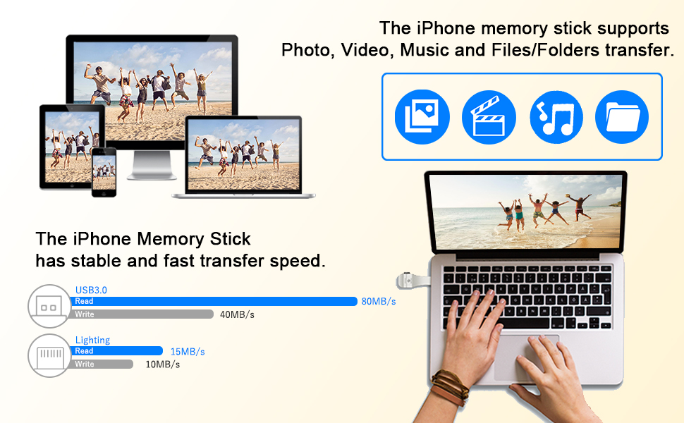 photo stick iphone thumb drive external iphone storage photostick 128gb iphone thumb drives iphone