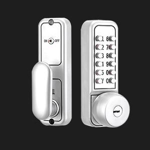 door gate mechanical lock garage  keyless locks for doors combination  double keypad deadbolt