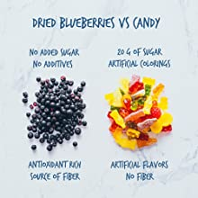 healthy berries blueberries candy no sugar