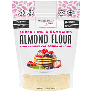 super fine blanched almond flour finely ground replacement keto ketogenic gluten free low carb