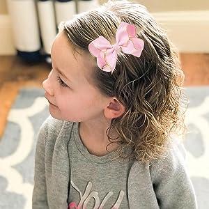kids hair bows