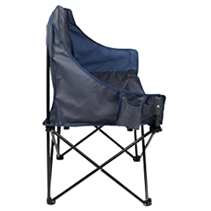 yourGEAR Bari XL Campingstuhl 2 Mann Camping-Sofa Klappstuhl 2 Getränkehalter