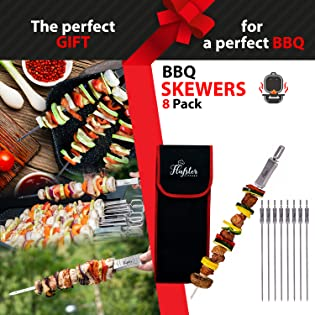 skewers for grilling reusable