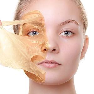 peel off mask, orange, scented, cream, mask