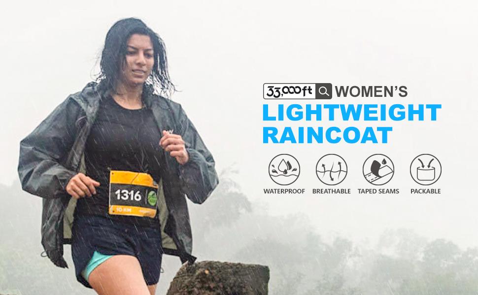 women's lightweight raincoat