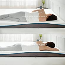 SUITABLE FOR ALL SLEEPING POSITIONS