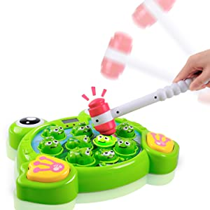 Hammering Pounding Toy Activity Game Music Toy, Montessori Early Educational Developmental STEM Toy