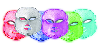 Red Light Therapy LED Face Mask Color Photon Skin Rejuvenation Collagen Wrinkles Scarring Korean