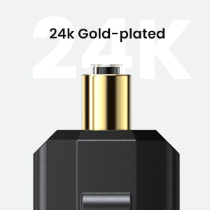 Digital Fiber Optical TosLink Cable Gold Plated