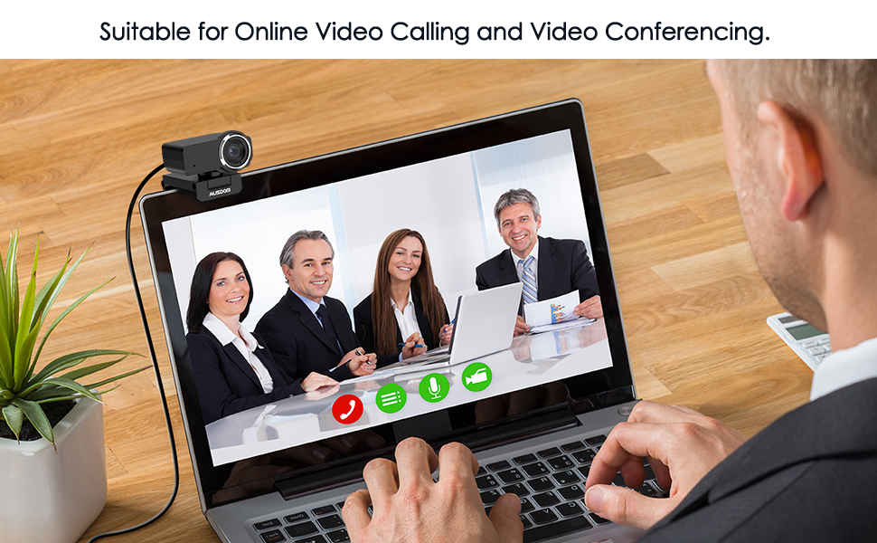 Webcam suitable for Video Calling and conferencing