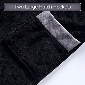Two Large Patch Pockets