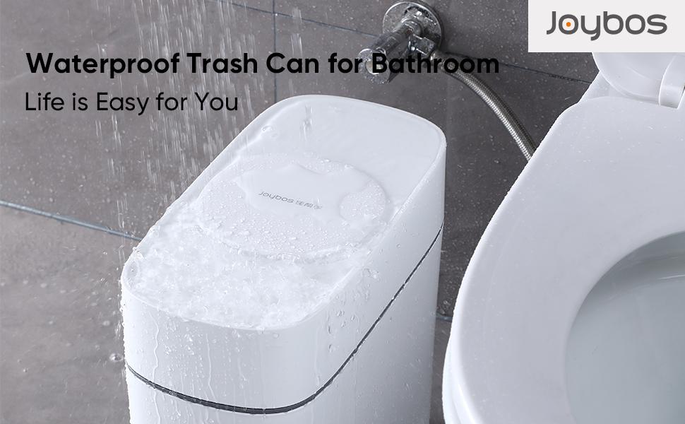 Waterproof trash can
