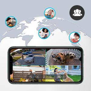 surveillance camera with 2-way audio
