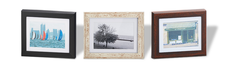 Three Color Available, Choose the perfect color's photo frame to decorate your home