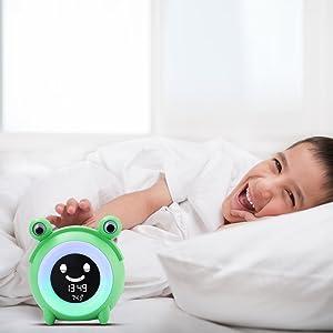 ok to wake clock
