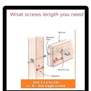 ensure screw length you need