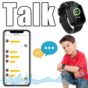 Niños GPS smartwatch voz chat mensaje reloj teléfono para niños grils regalo Navidad año nuevo