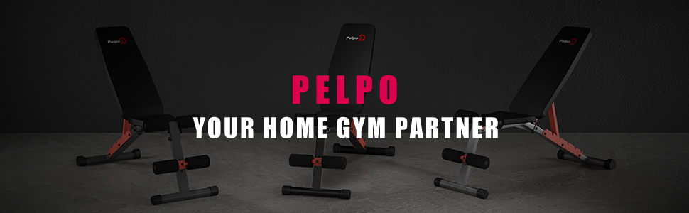 pelpo weight bench, your home gym partner