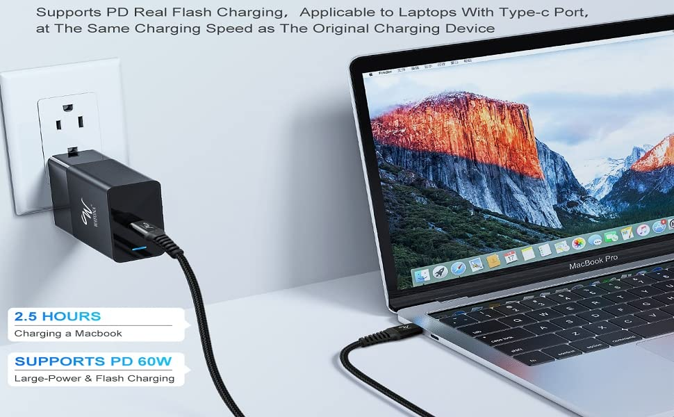type C wire cord for Macbook charger wire Type C to Type C C to C cable fast charging
