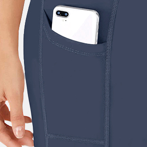 yoag shorts with pockets