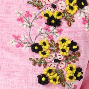hand work kurti,umbrella style kurti,flared kurti,straight kurti,pink kurti,embroidery kurti,