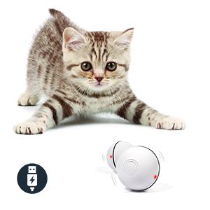 360 degree rotation cat toy