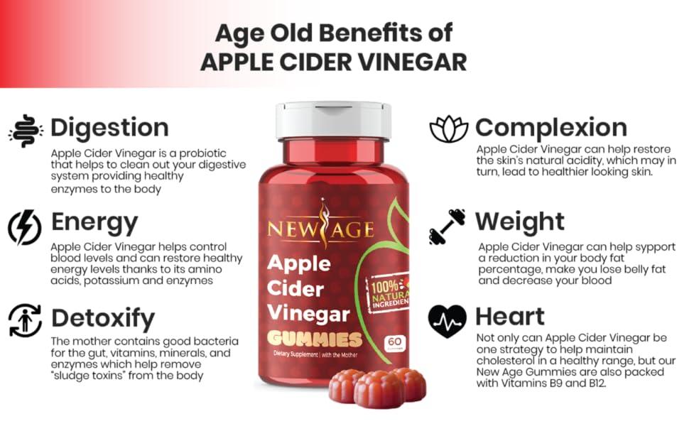 acv gummies healthy diet detox apple cider vinegar