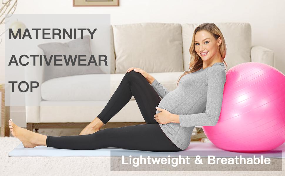 maternity activewear top