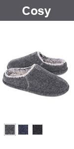 longbay men's slip on slippers